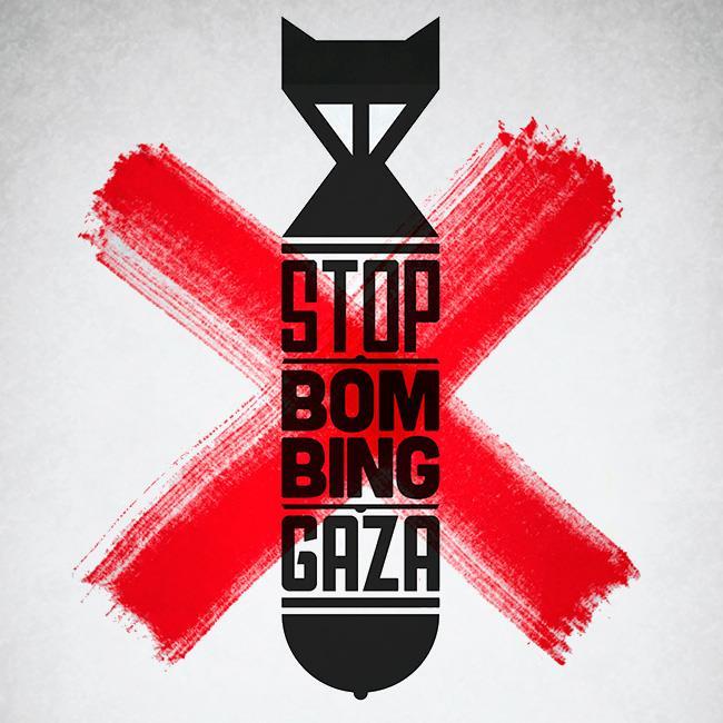 Stop-bombing-Gaza